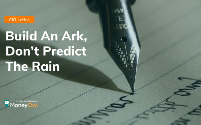 Build An Ark, Don't Predict The Rain