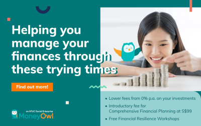 Announcement: MoneyOwl rolls out a series of new initiatives to help Singaporeans manage their finances better in these trying times