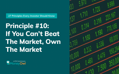Investment Principle #10 – If You Can't Beat the Market, Own the Market